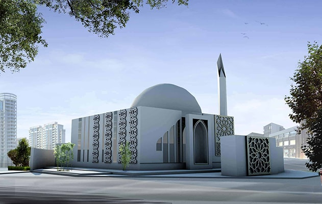 Architecture de la Mosquée Qassim | Architecture arabe INJ ARCHITECTS
