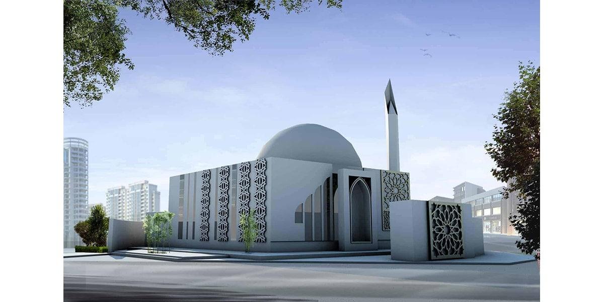 mosquée Qassin par INJ ARCHITECTS