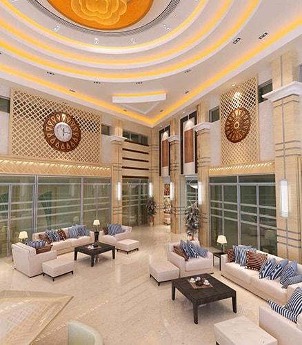 Design Entrée Hôtel Movenpick | Design intérieur par INJ ARCHITECTS