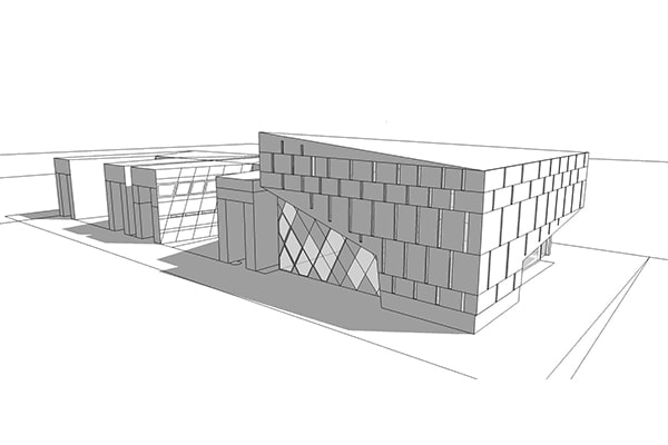 Competition Architecture 3D Instant House INJ ARCHITECTS
