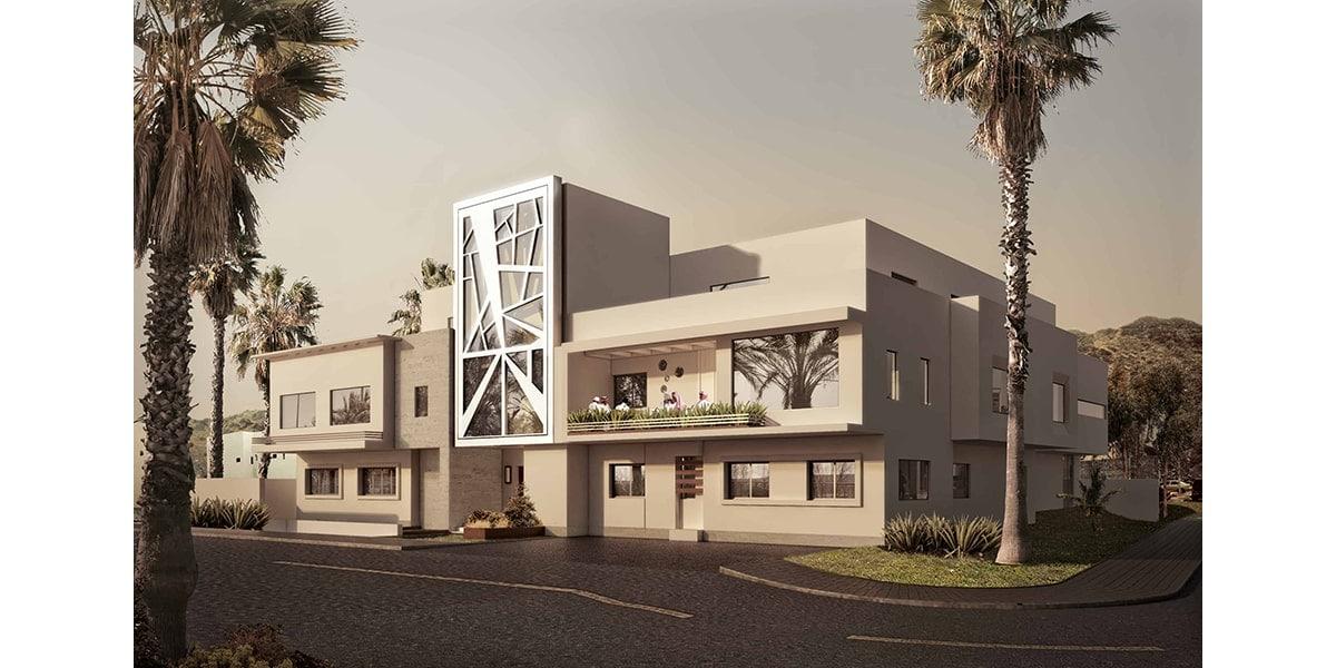 Style immeuble résidentiel à la mecque par INJ ARCHITECTS
