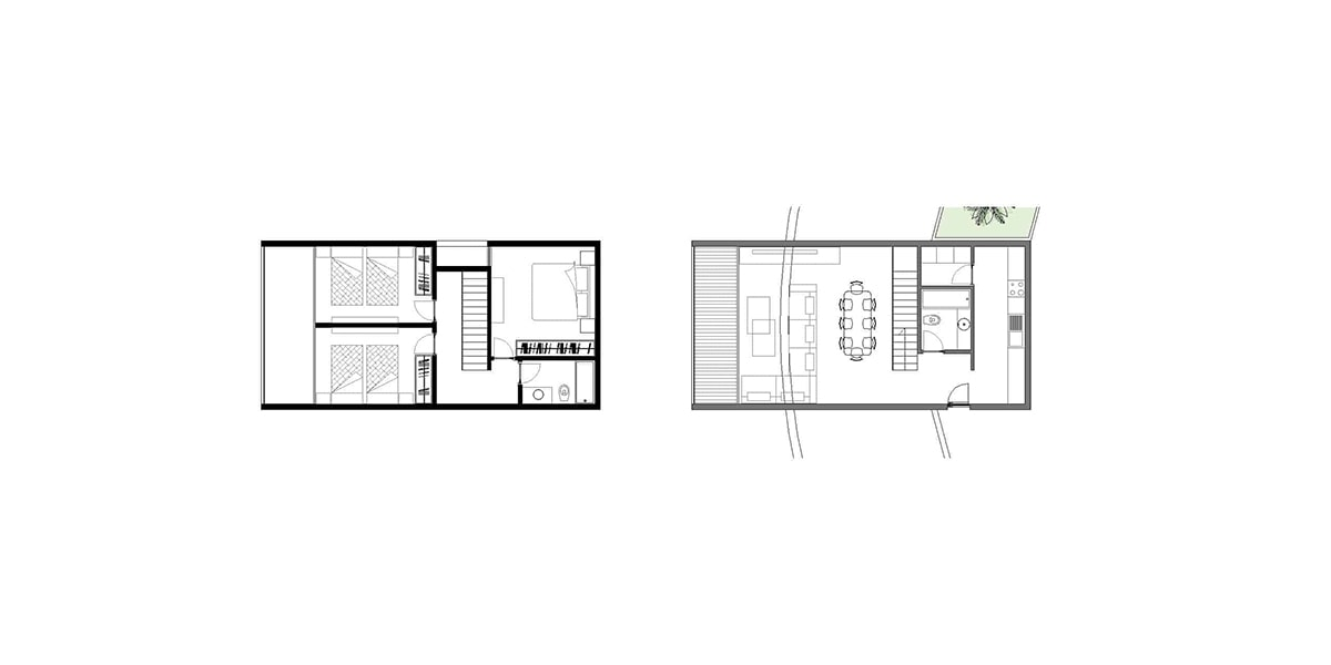 Vertical Temporary houses