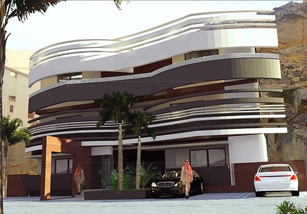 Immeuble résidentiel ABJ: conception architecturale par INJ ARCHITECTS