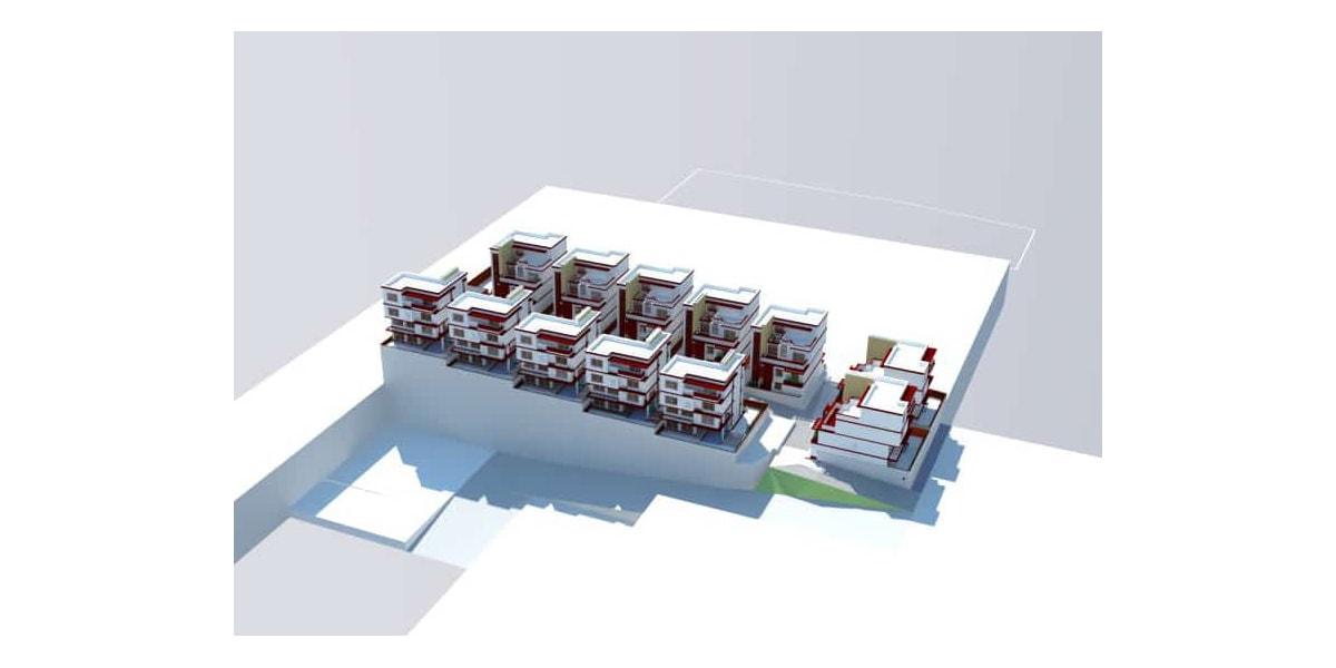 plan architecture arabe par INJ ARCHITECTS