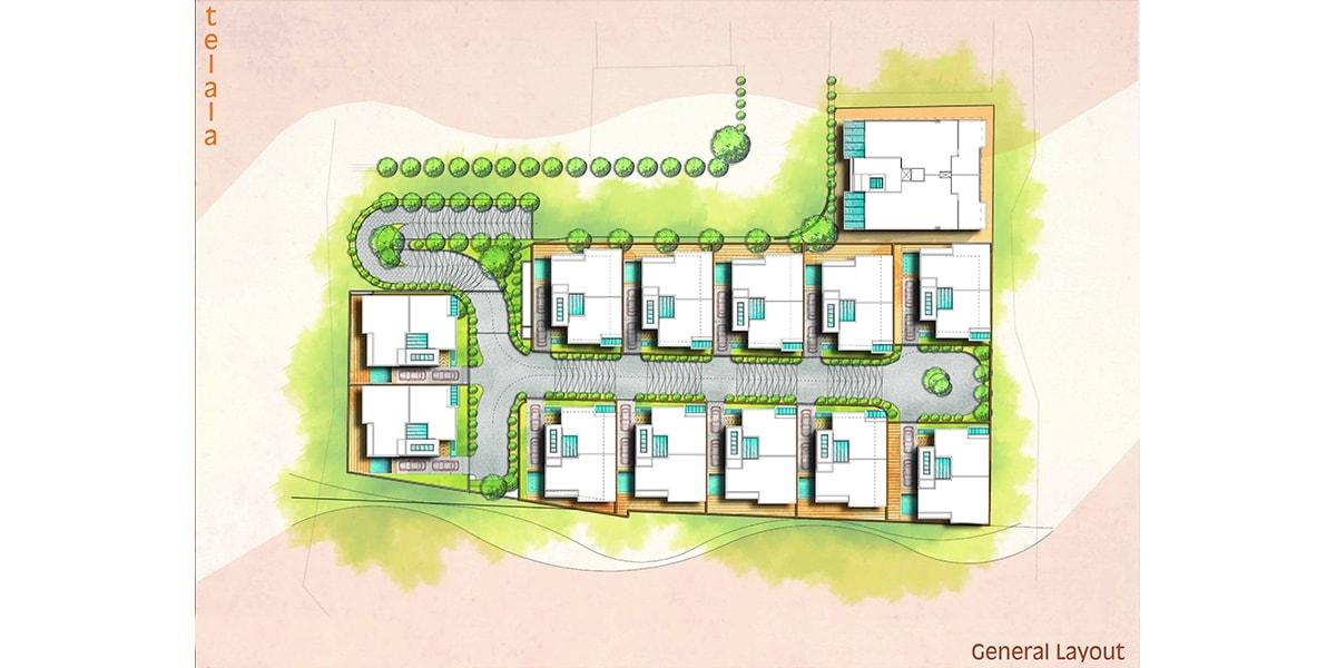 plan architectural arabe par INJ ARCHITECTS