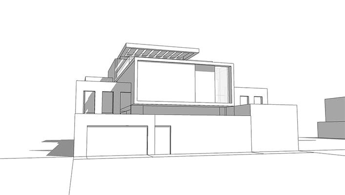 Villa moderne de luxe: Villa ESA Villas modernes pa INJ ARCHITECTS