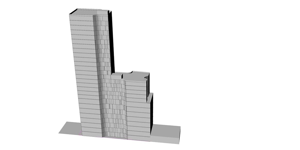 etude conception architecturale d'hôtel INJ ARCHITECTS