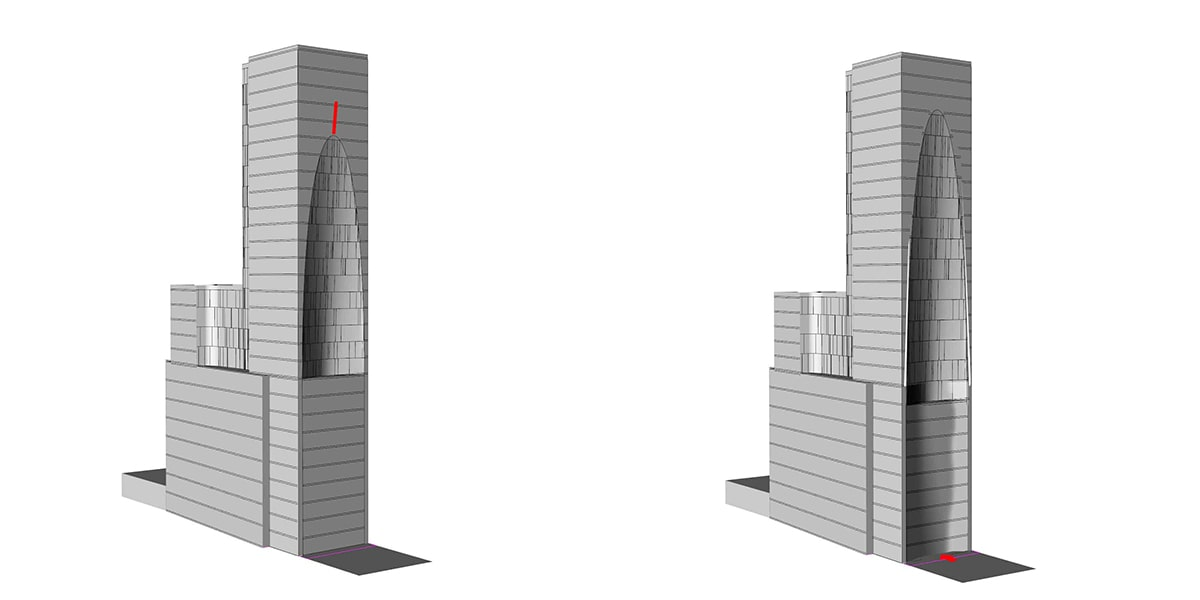 conception architecturale d'hôtel
