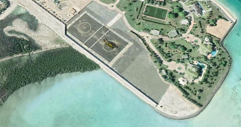 Héliport Île de Badiah :Conception et construction d'aéroport pour hélicoptères INJ ARCHITECTS