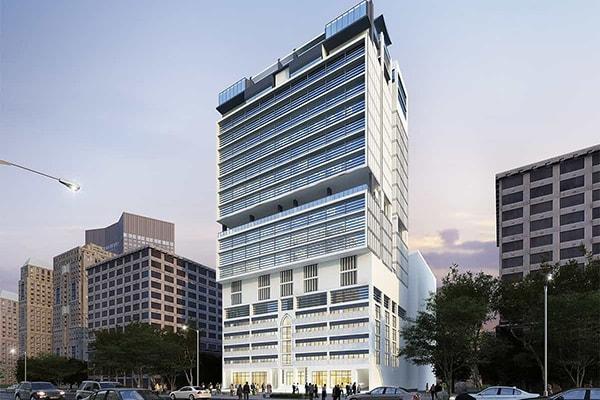 Hotel Al-Hijra: projet architectural Hotel Al-Hijra | INJ ARCHITECTS