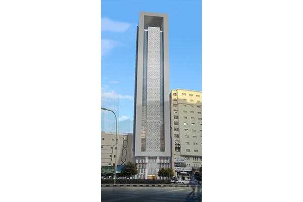 Tower Al Aziziyah INJ ARCHITECTS