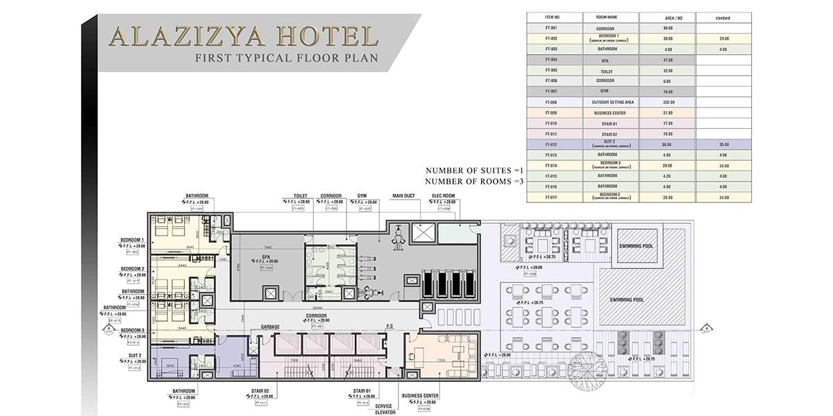 PLAN HOTEL PAR INJ ARCHITECTS