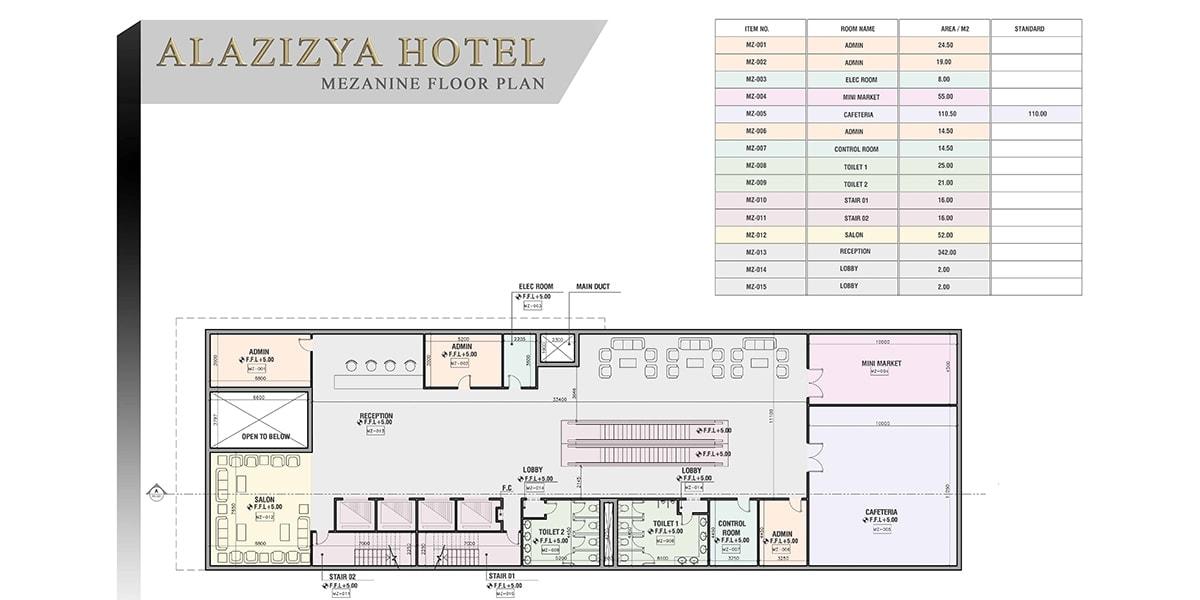 Al Aziziyah Hotel par INJ ARCHITECTS
