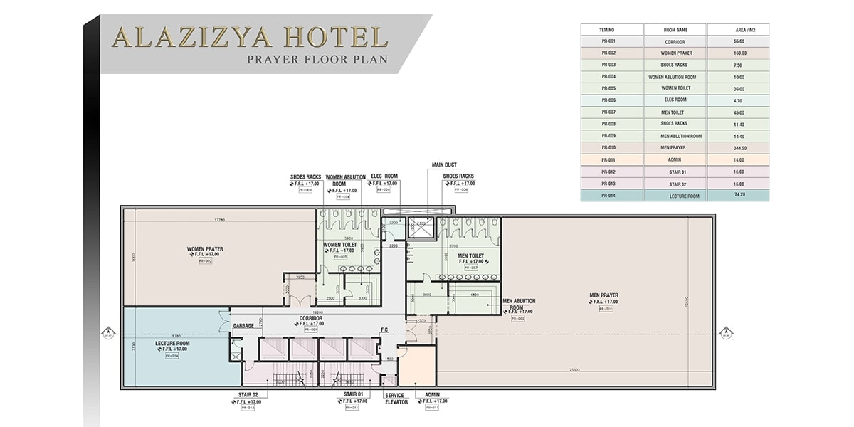 Tower Al Aziziyah: Concevoir une architecture moderne