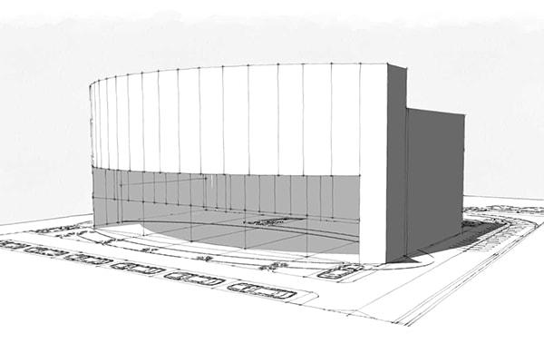 Oval Avinio: projet architectural innovant par INJ ARCHITECTS