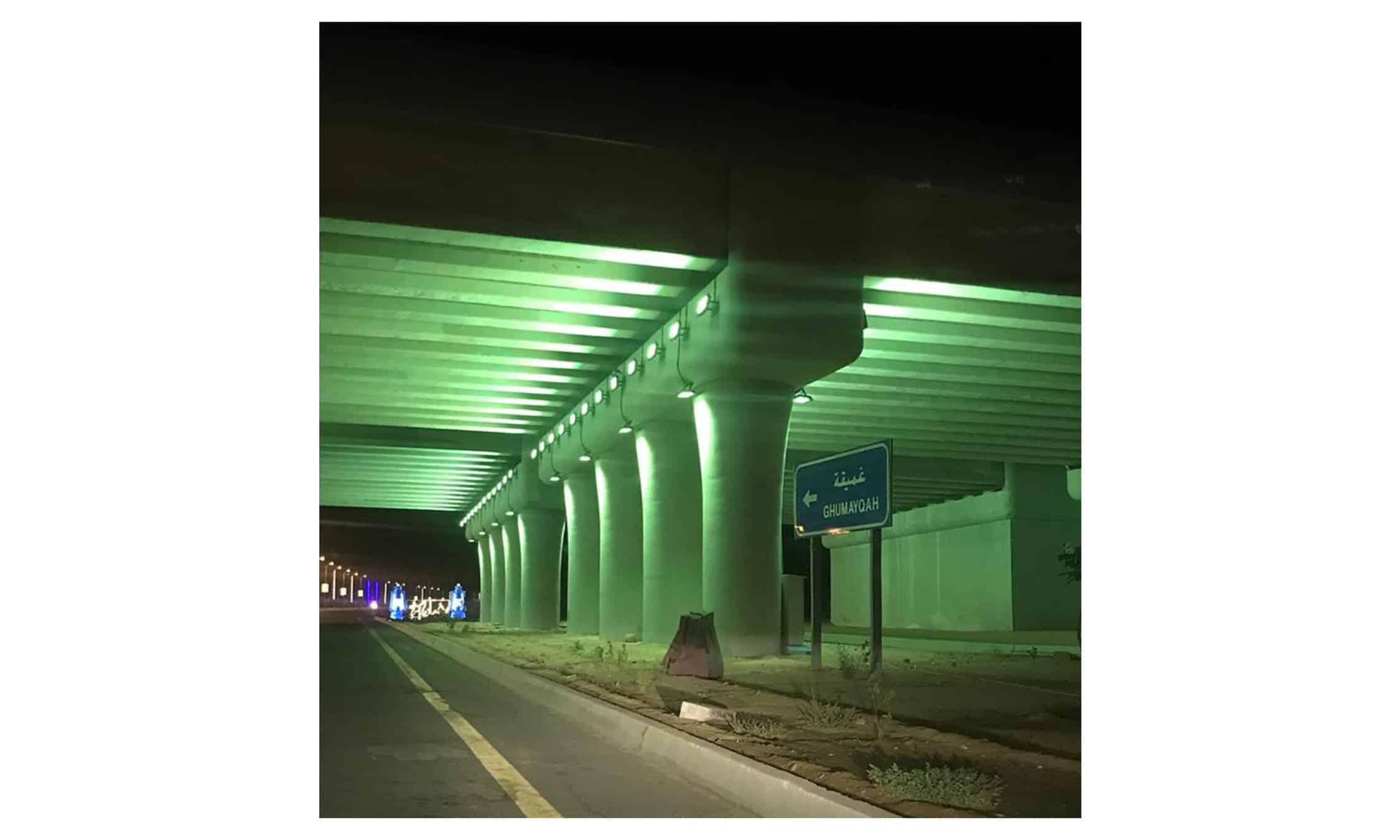 conception de pont entrée de la ville d'Al-Laith INJ ARCHITECTS