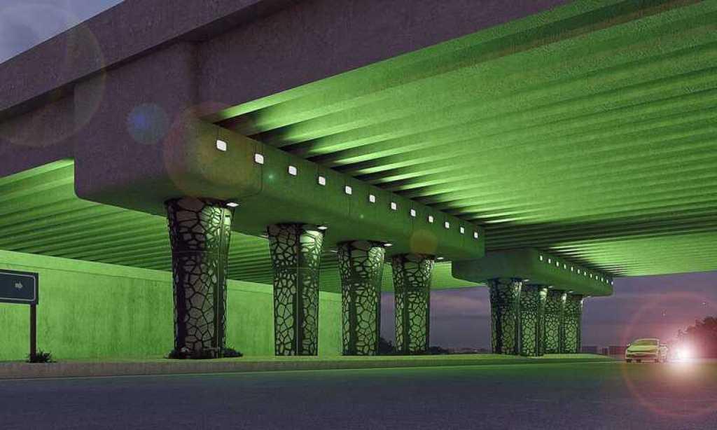 pont entrée de la ville d'Al-Laith INJ ARCHITECTS