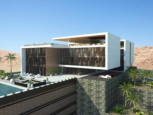 Complexe résidentiel INJ: Design architectural luxe NJ ARCHITECTS