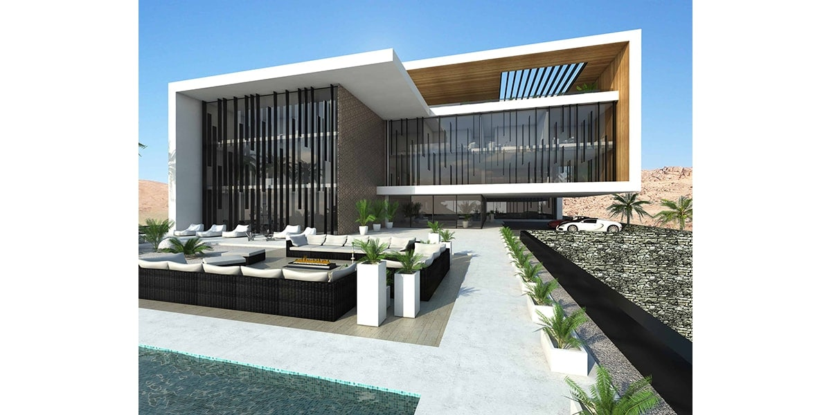 style architectural Bureau d'étude architecture INJarch Complexe résidentiel INJ