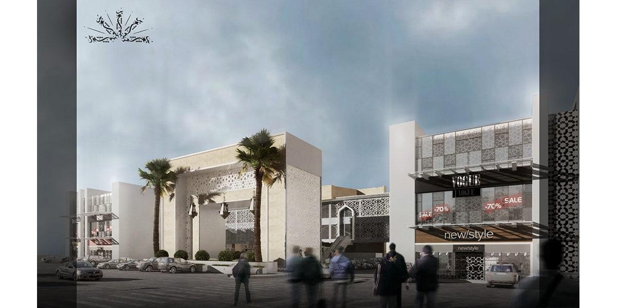 Centre commercial AL Soud Plaza par INJ ARCHITECTS