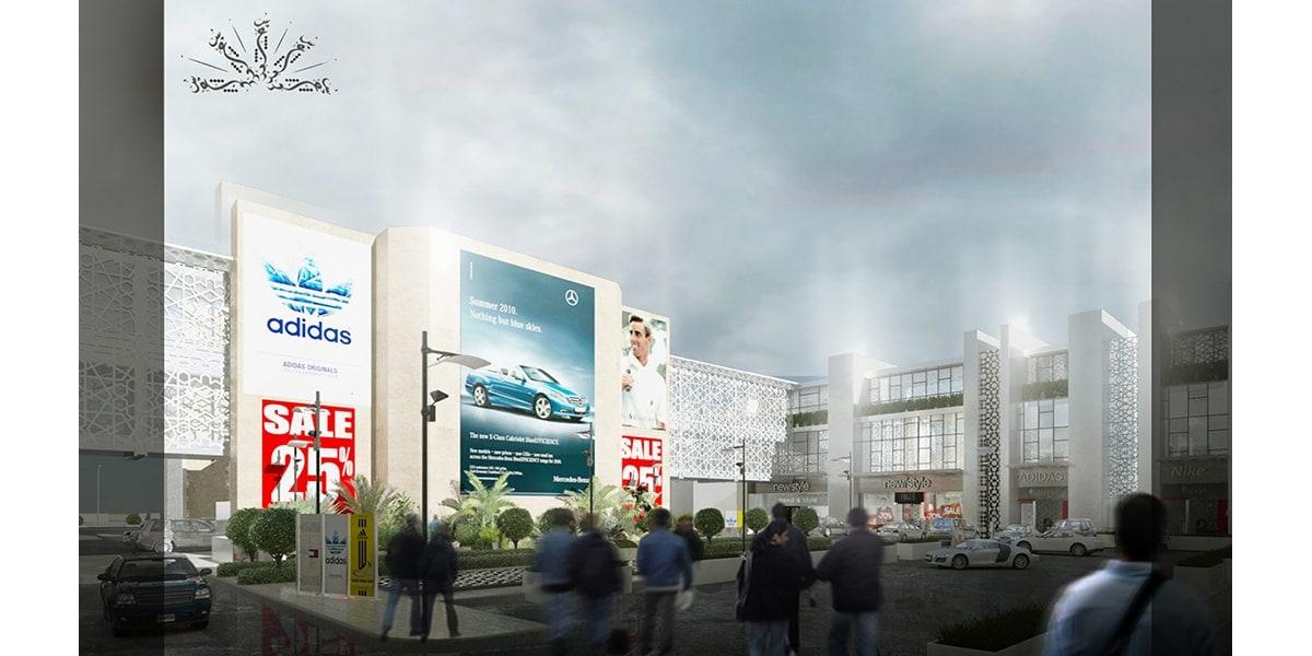 Centre commercial et mall design AL Soud Plaza par INJ ARCHITECTS