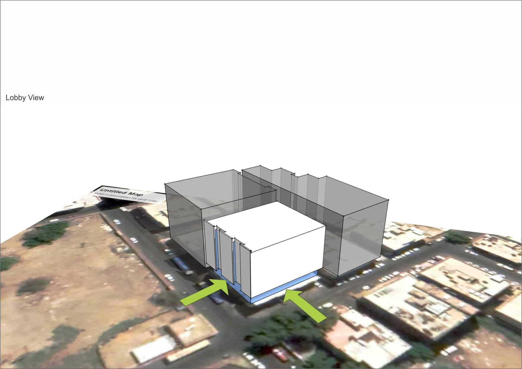 plan d'architecture hotel INJ