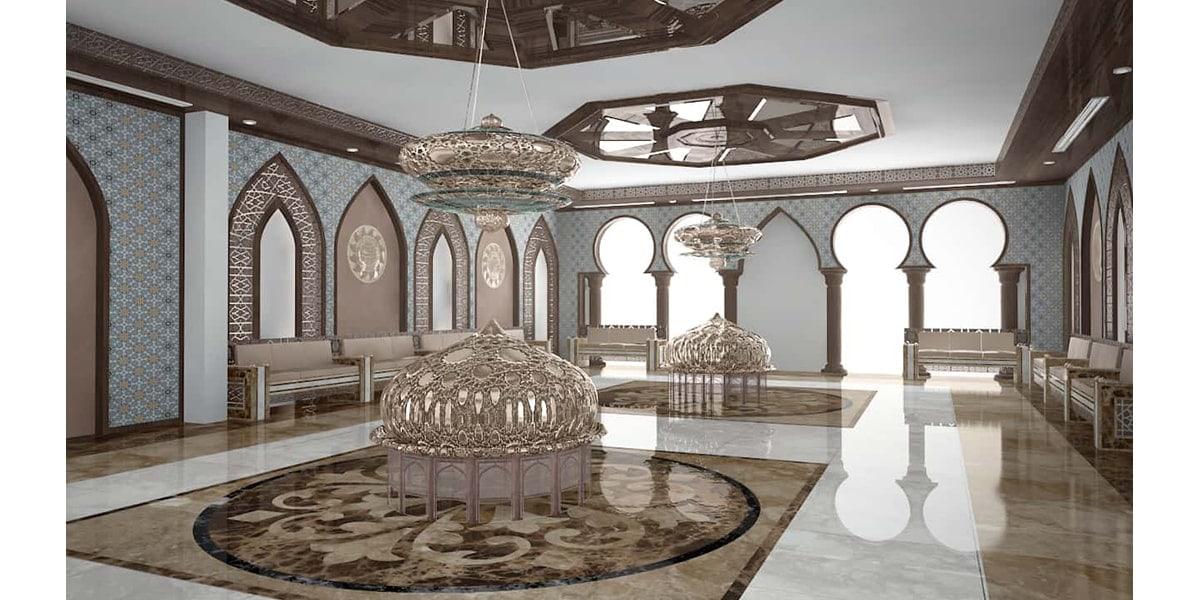 design intérieur d'un centre pour les policiers par INJ