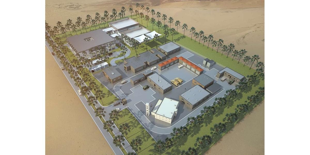 Architecture Officiers et hospitalité INJ ARCHITECTS