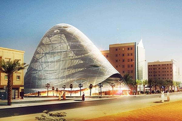 Conseil saoudien des ingénieurs SCE par INJ ARCHITECTS