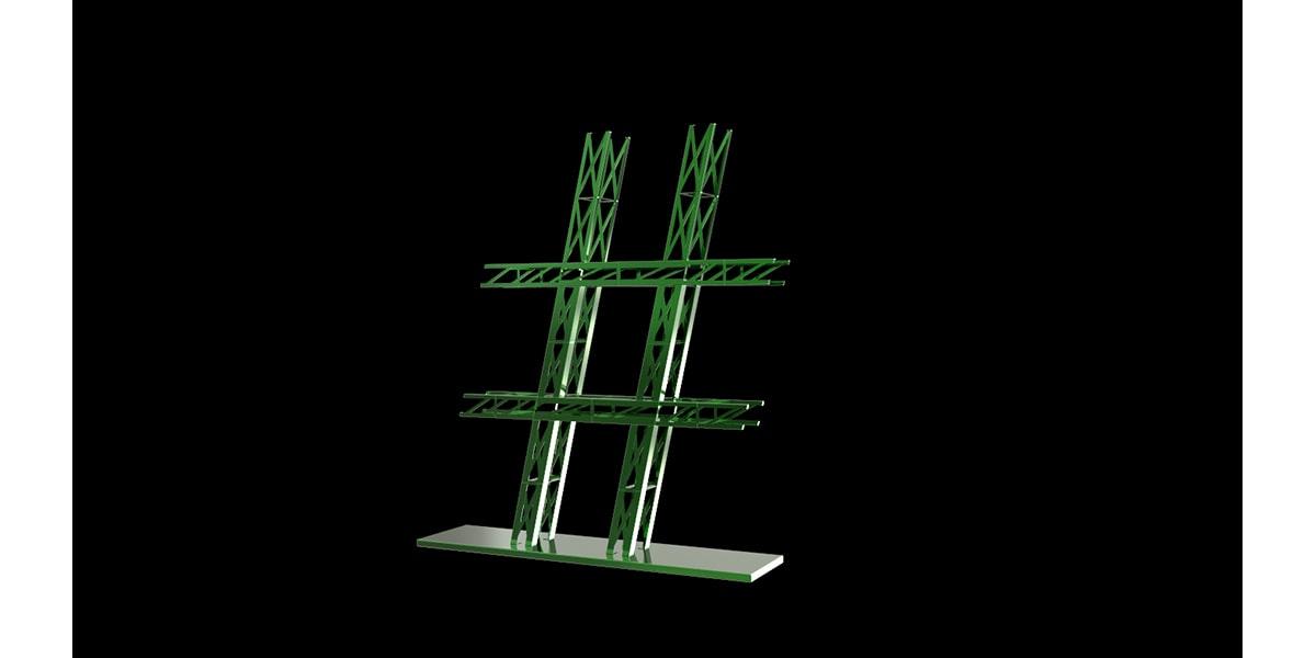 Projet artistique # : conception artistique et design par INJ ARCHITECTS