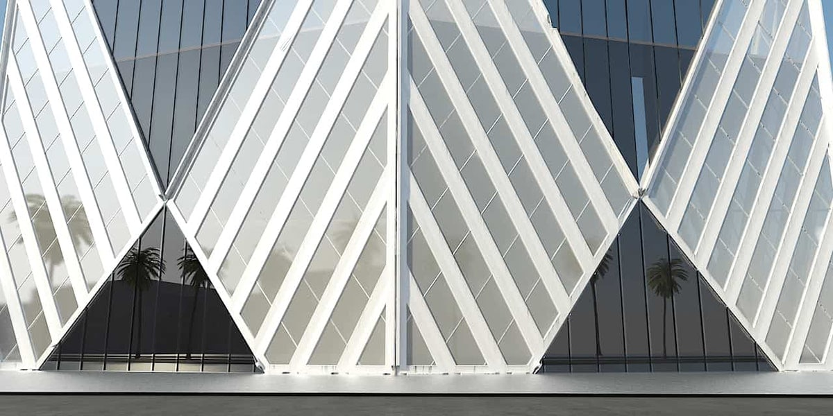 Immeuble de bureaux ZH architecture à la Mecque par INJ ARCHITECTS