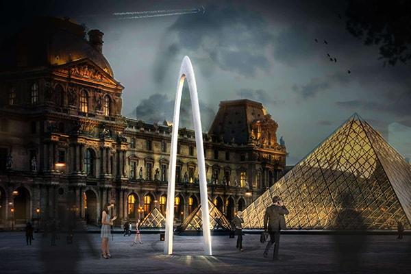 Arc architecture en plastique| Architecture organique| INJ ARCHITECTS
