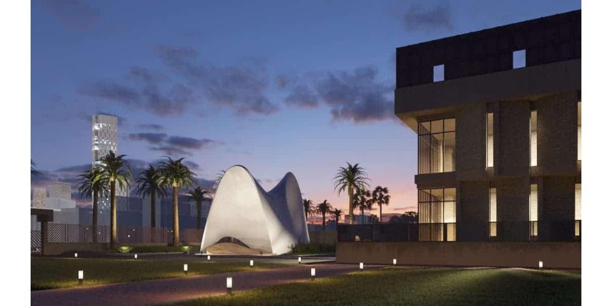 Conception artistique du pavillon INJ ARCHITECTS