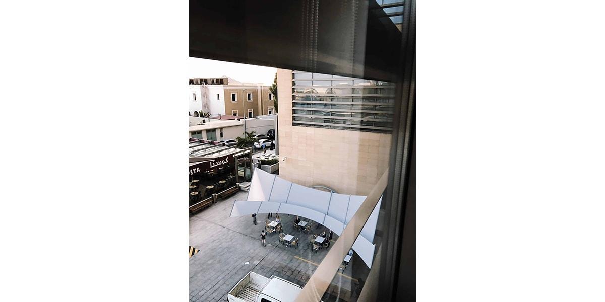Tente de luxe Hadia INJ ARCHITECTS