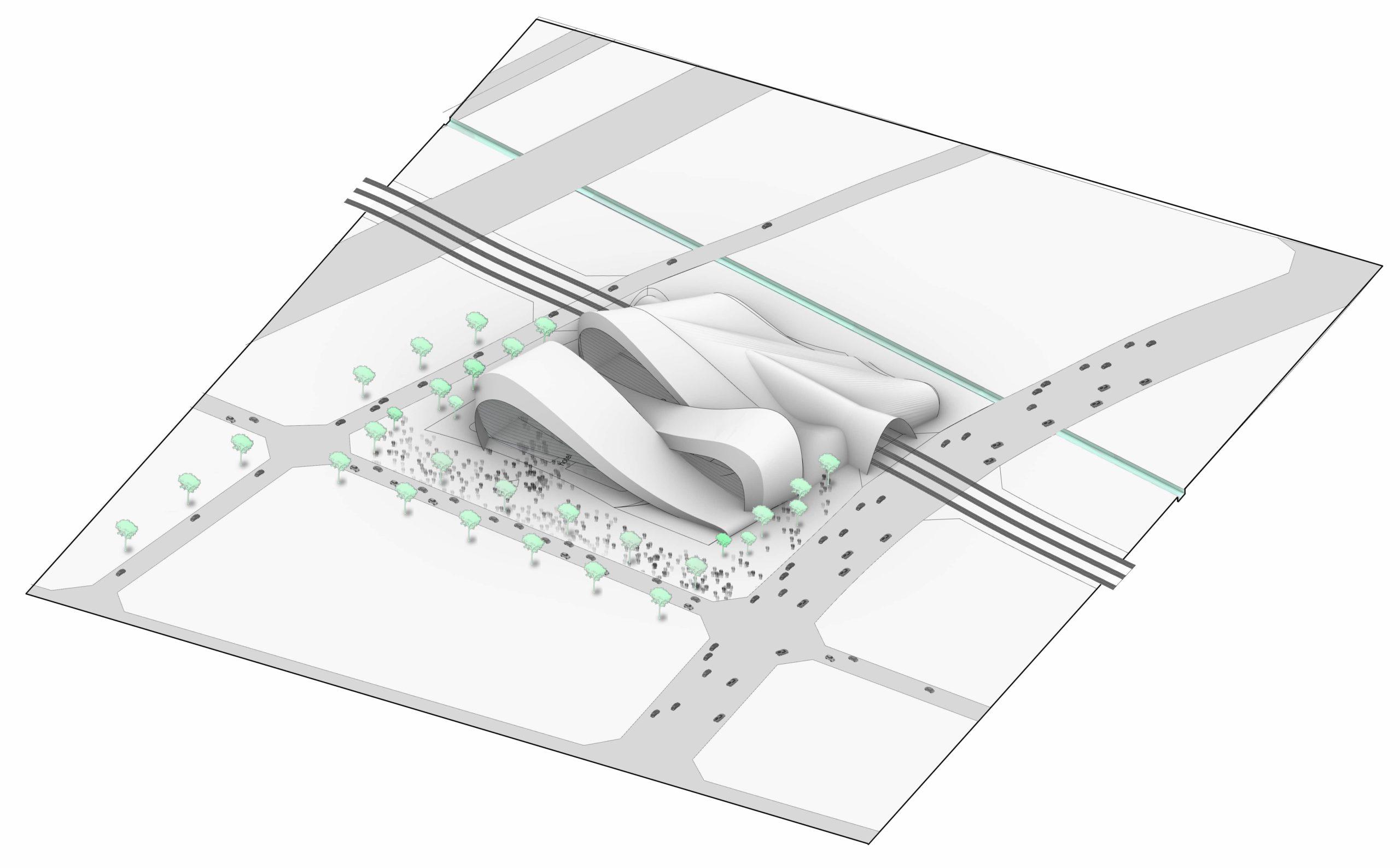 architecture de station de train en Chine INJ ARCHITECTS