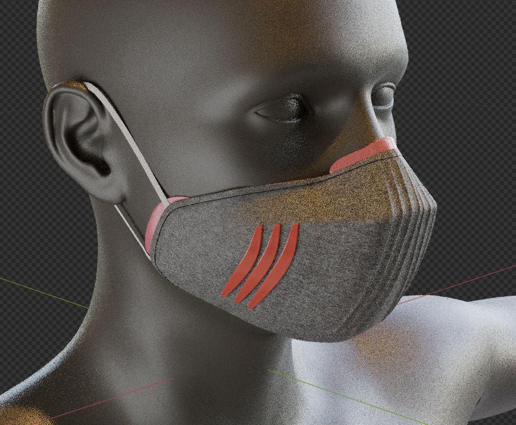 Masque anti-Covid INJ ARCHITECTS