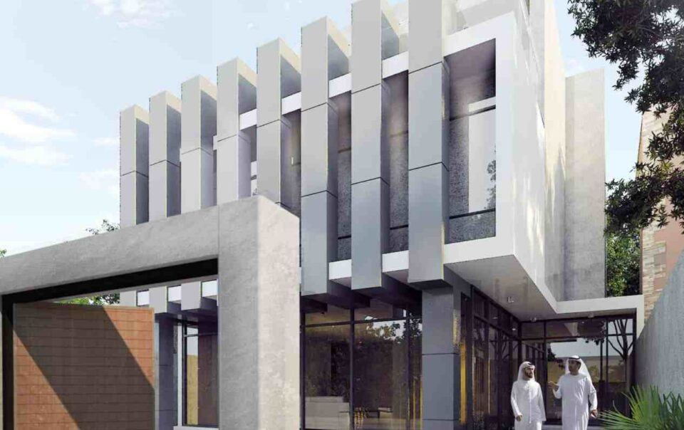 Villa de luxe par INJ ARCHITECTS