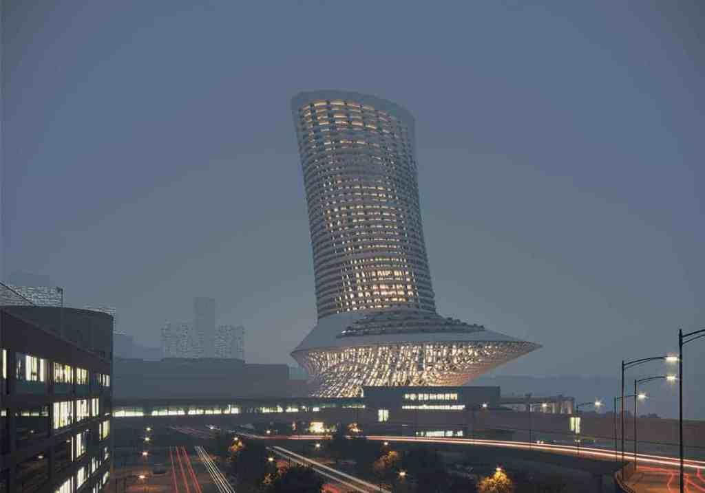 Concept de design INJ ARCHITECTS