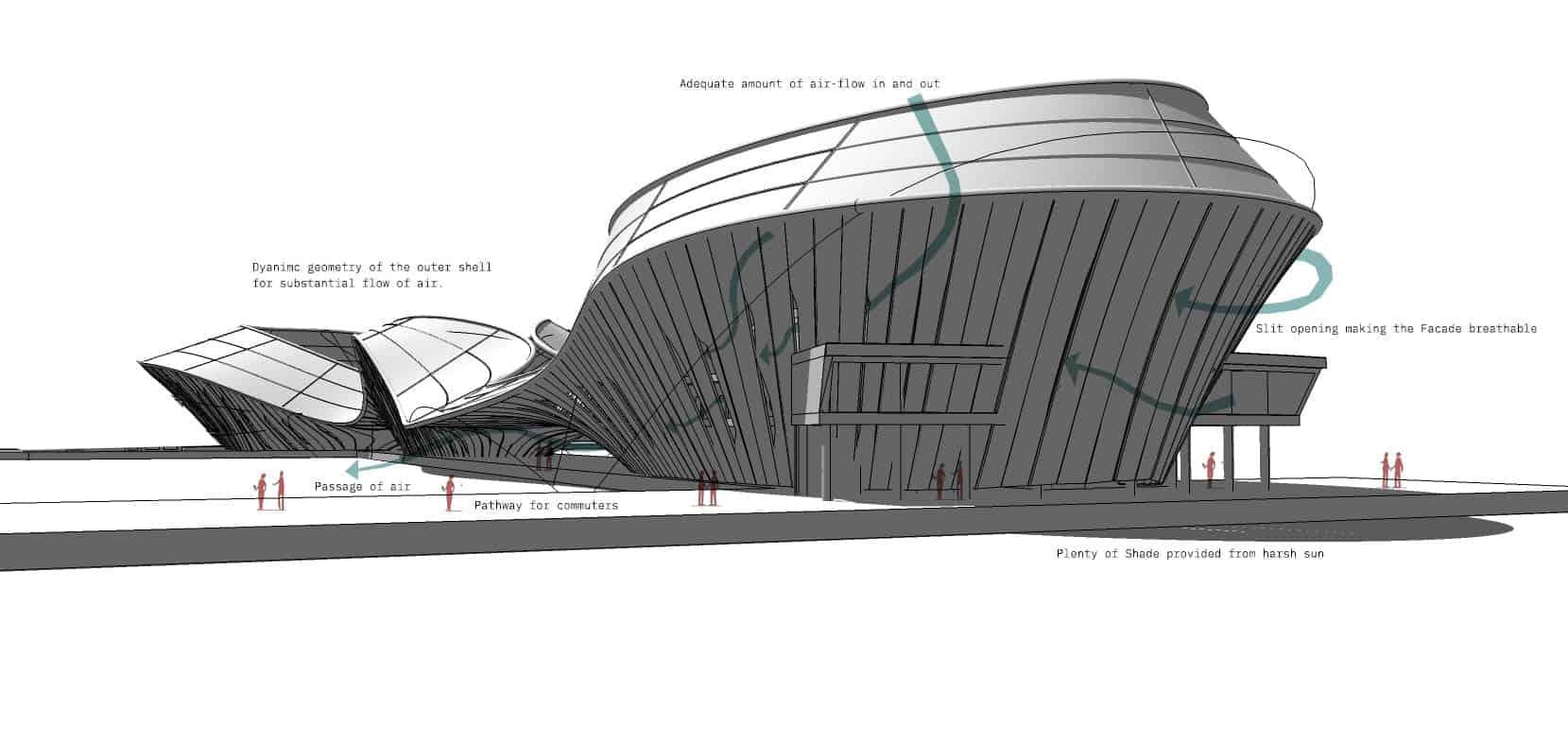 étude architecturale en Italie par INJ ARCHITECTS