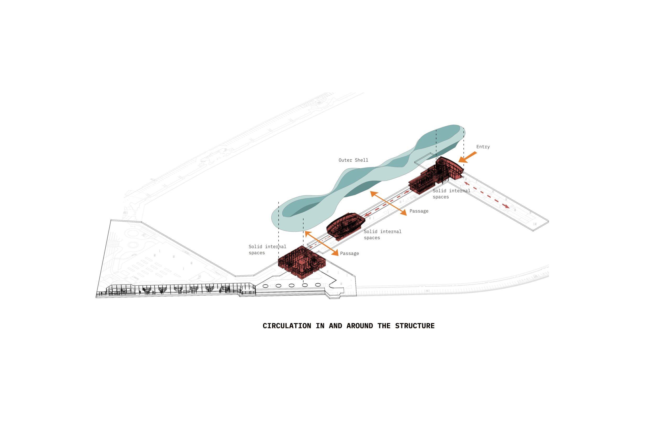Champignon de baleine NJ ARCHITECTS