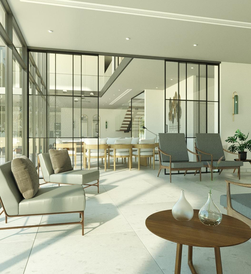 Design d'intérieur & architecture d'intérieur : design moderne et chic chez INJarch