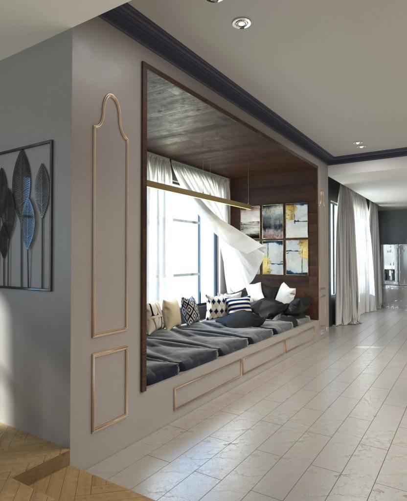 Rénovation intérieur et design d'intérieur du palais IMK