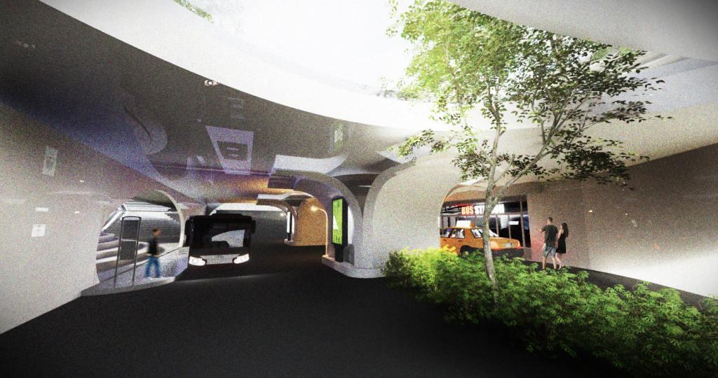 architecture pour la place Podgorica INJ ARCHITECTS