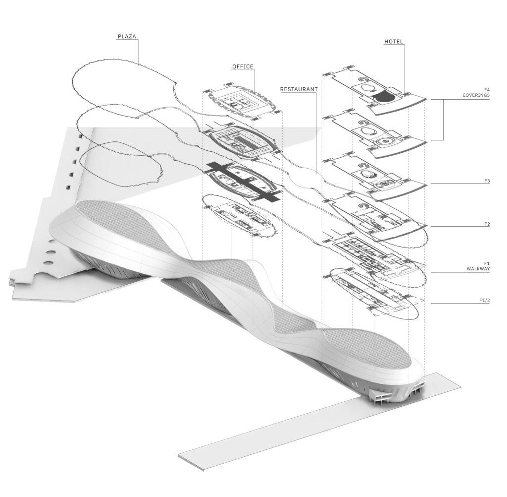 Conception de projet d'un bâtiment chez INJarch