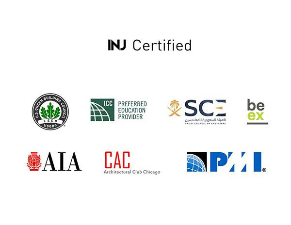certificats INJ Architects