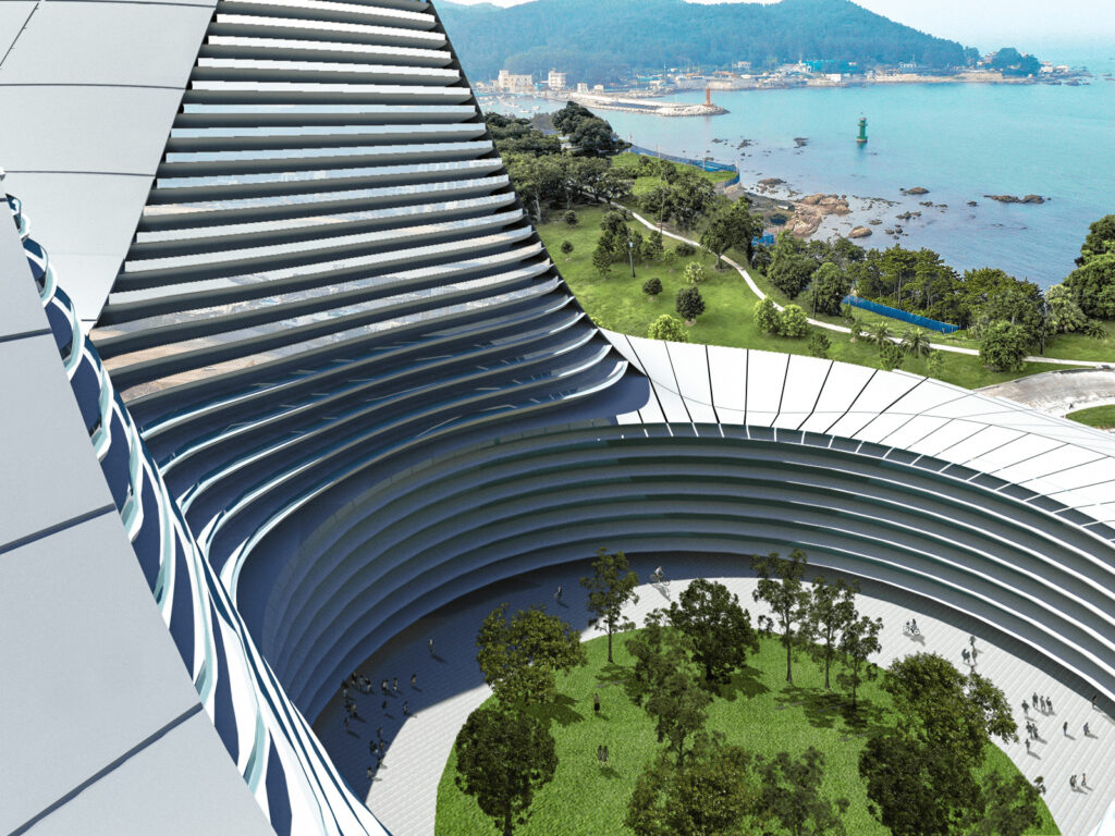 Architecture Competitions old yin yang hanglas INJarch