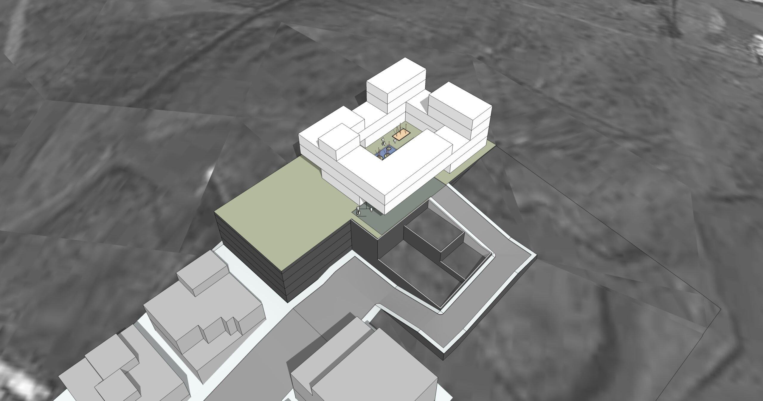 Design of palaces and luxury residential buildings